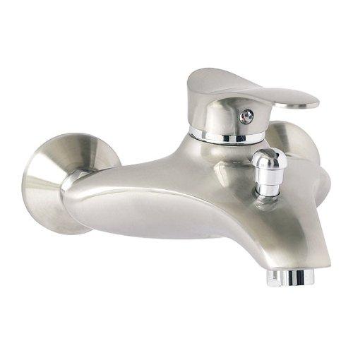 Edelstahl-Einhandmischer-Wannenarmatur-Badarmatur-Badewannen-Wasserhahn-von-FERRO-Modell-SWING-PVD-0