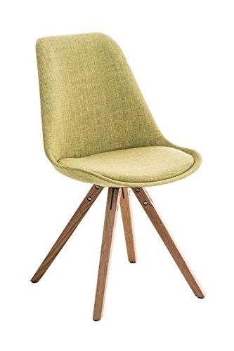 Esszimmerstuhl, Küchenstuhl, Lehnenstuhl, Sitzgelegenheiten, Besucherstuhl, Stuhl, Wartezimmerstuhl, Wohnzimmerstuhl Stoff natura grün #PeglegS