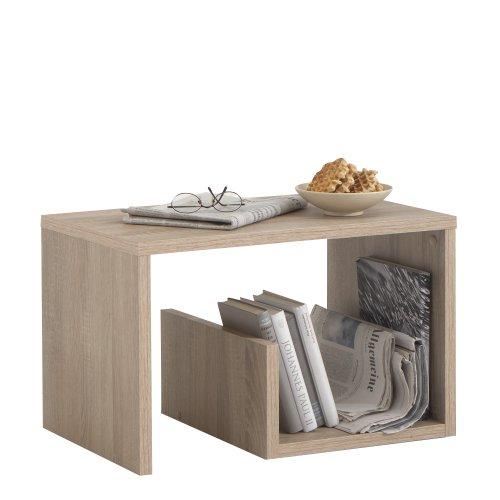 FMD Möbel 632-001 Beistelltisch Mike (B/H/T) 59 x 38 x 36 cm Eiche