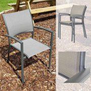 Gartenstuhl-AluminiumTextil-grau-stapelbar-0