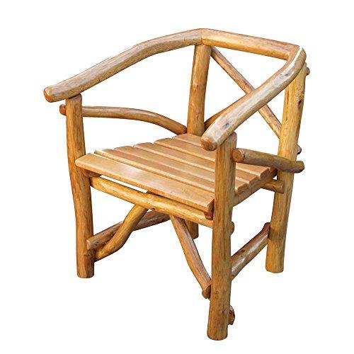 Gartenstuhl aus Holz massiv Pharao24
