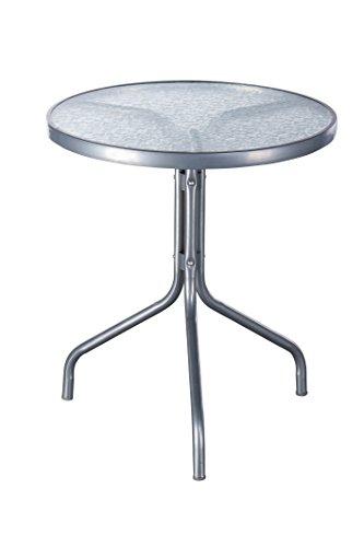 Gartentisch-Glas-Bistrotisch-60xH70cm-Balkontisch-0