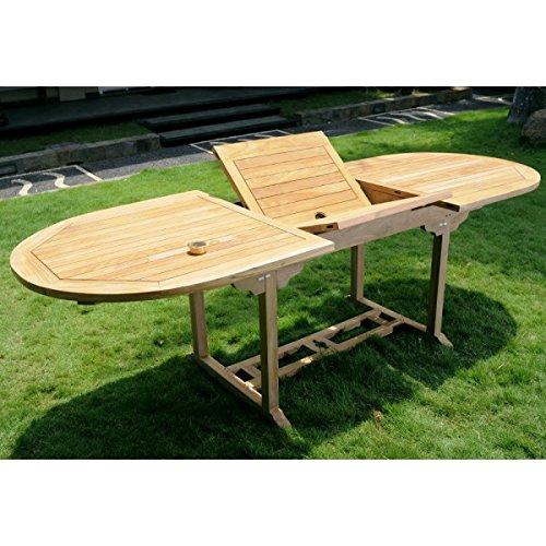 Gartentisch-Teak-roh-Tisch-oval-ausziehbar-0