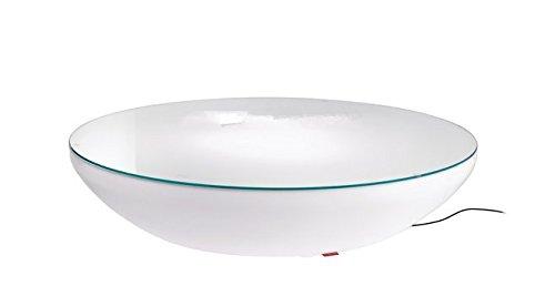 Gowe D80Fashion Halbkreis LED beleuchtet Möbel, Lounge Variation LED, LED Couchtisch wiederaufladbar für Bars, Veranstaltungen, Weihnachten