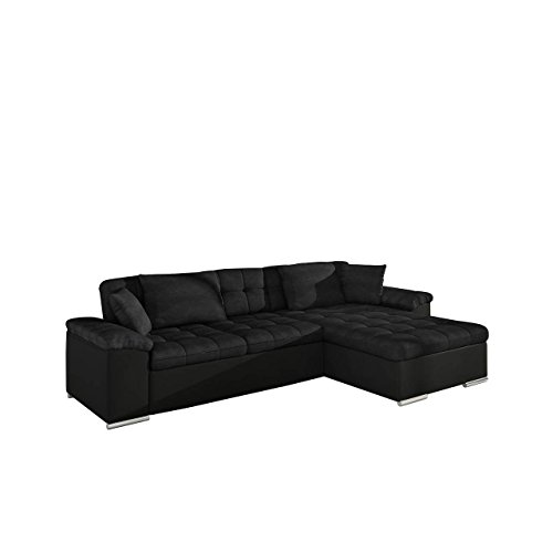 gro es design ecksofa diana eckcouch mit bettkasten und. Black Bedroom Furniture Sets. Home Design Ideas