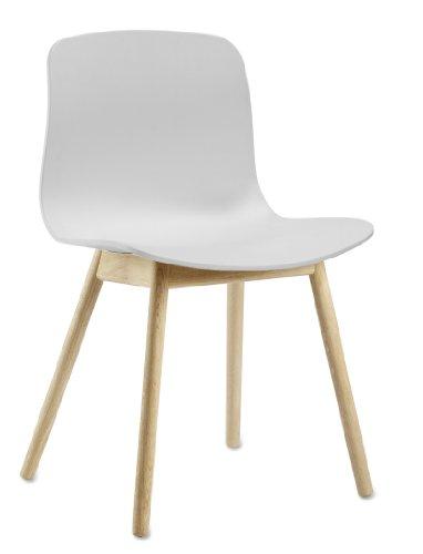 HAY - About a Chair AAC 12 - weiß - klar lackiert - Hee Welling and Hay - Design - Esszimmerstuhl - Speisezimmerstuhl