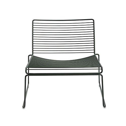 HAY Hee Lounge Stuhl, racing grün lackiert 72x67x67cm Sitzhöhe: 37cm