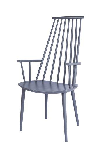 HAY - J110 Stuhl - grau - Poul M. Volther - Design - Esszimmerstuhl - Speisezimmerstuhl