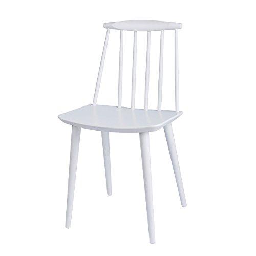 HAY - J77 Stuhl - weiß - Folke Palsson - Design - Esszimmerstuhl - Speisezimmerstuhl
