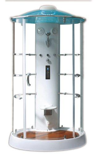 Hammerpreis - Dampfdusche 120 x 120 x 220 cm, modernes Design, Schmuckstück im Bad
