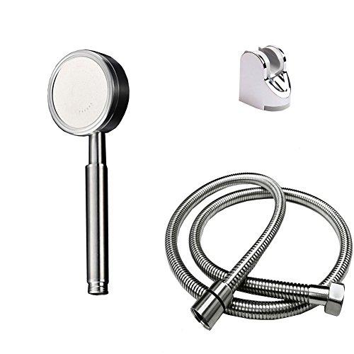 Handbrause-mit-halterung-und-15m-Schlauch-304-edelstahl-duschkopf-fr-Badezimmer-0