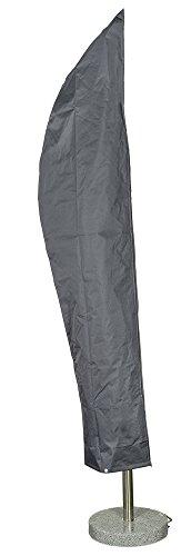 Happy People Schutzhülle Wehncke Abdeckung für Garten Ampelschirm, grau
