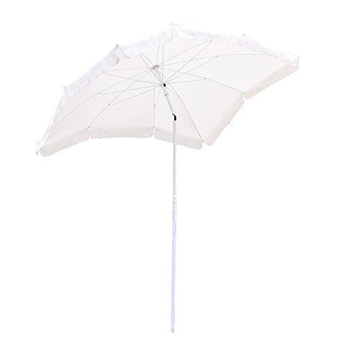 Hengda® Für Garten, Terrasse, Loggia, Balkon, Camping-Platz, Pool, Planschbecken Sonnenschirm Garten Schirm Marktschirm Ampelschirm Kurbel Schirm