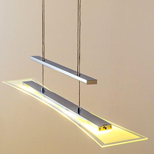 h henverstellbare dimmbare led h ngeleuchte parma 16 watt 1280 lumen 3000 kelvin warmweiss mit. Black Bedroom Furniture Sets. Home Design Ideas
