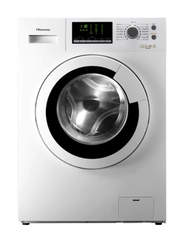 Hisense WFU6012 Waschmaschine FL / A++ /172,0 kWh/Jahr / 1200 UpM / 6 kg / 7990,0 L/Jahr / 360° Smart-Wash / weiß