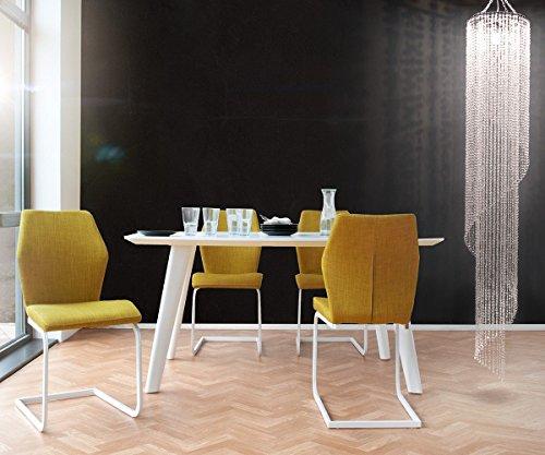 Hängelampe Big Strass Transparent 40x240 cm Acrylglas Hängeleuchte