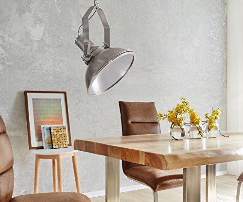 Hngelampe-Lamberto-Silberfarben-40-cm-Industrial-Style-Hngeleuchte-0-0