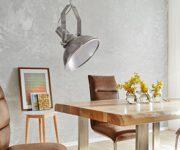 Hngelampe-Lamberto-Silberfarben-40-cm-Industrial-Style-Hngeleuchte-0
