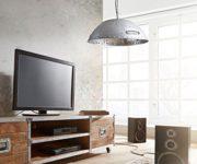 Hngelampe-Lambrini-Silberfarben-25x100-cm-Industrial-Design-0