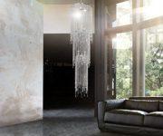 Hngelampe-Strass-Fontain-Transparent-46x350-cm-Acrylglas-0