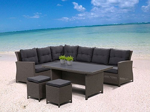 Hohe-Dining-Poly-Rattan-Lounge-Havanna-inkl-Kissen-0