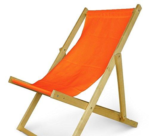 Holz Sonnenliege Strandliege Liegestuhl aus Holz Gartenliege N/7