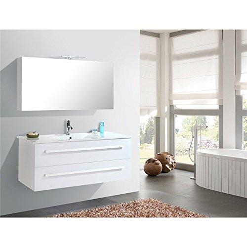 Home-Deluxe-Badmbel-Set-Wilhelmshaven-Wei-Hochglanz-inkl-Waschbecken-und-komplettem-Zubehr-0