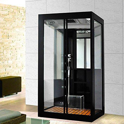 Home-Deluxe-Black-Luxory-XL-Duschtempel-inkl-Dampfsauna-und-komplettem-Zubehr-0