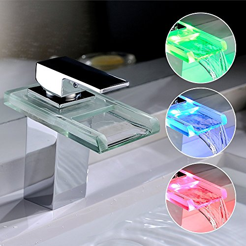 Homelody-LED-RGB-Wasserfall-Armatur-Wasserhahn-Waschbeckenarmatur-Einhebelmischer-Waschbatterie-Bad-Waschtischarmatur-Mischbatterie-Badarmatur-fr-Badezimmer-0