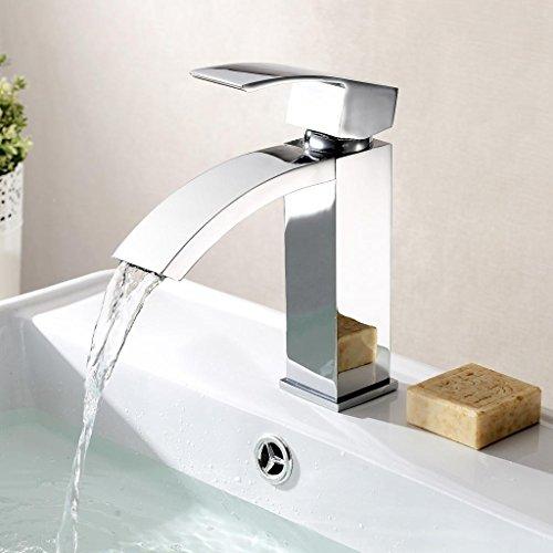 Homfa-Waschtischarmatur-Einhelbel-Wasserhahn-Armatur-wasserfall-fr-Badezimmer-Waschbecke-0