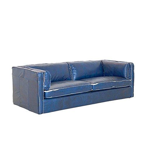 Hussensofa-3-Sitzer-Rindsleder-blau-Antiklook-222x75x96cm-SH-44cm-Modell-Manos-0