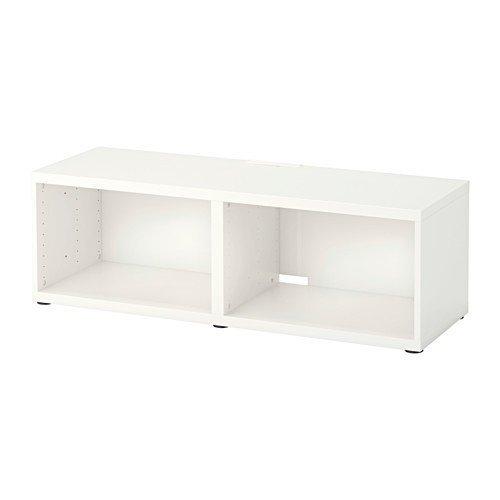 IKEA BESTA TV-Bank in weiß; (120x40x38cm)