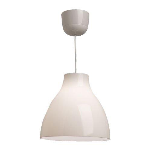 """IKEA Hängelampe """"MELODI"""" Hängeleuchte Deckenlampe WEISS"""