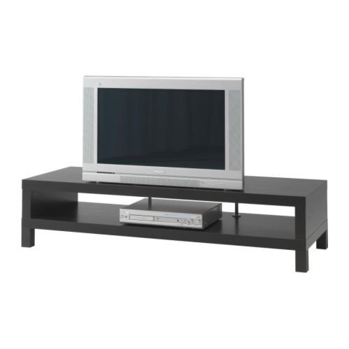 ikea lack tv bank in schwarzbraun 149x55cm m bel24. Black Bedroom Furniture Sets. Home Design Ideas