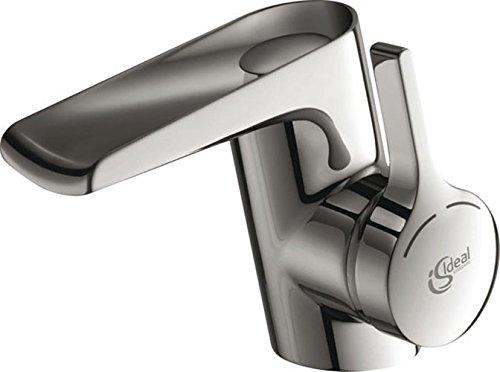 Ideal-Standard-B8630AA-Waschtischarmatur-Melange-verchromt-offener-Wasserfall-Auslauf-0
