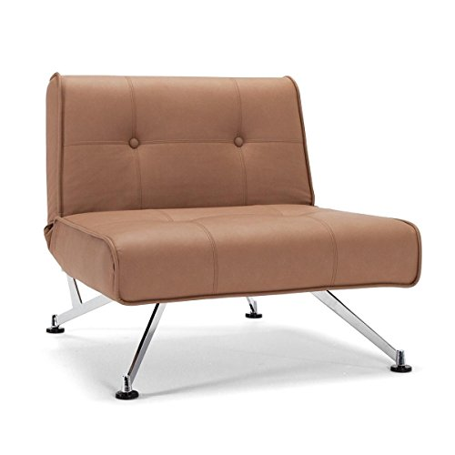 Innovation-Clubber-Sessel-braun-Kunstleder-Bezug-Dess-593-Nubucko-Twist-0