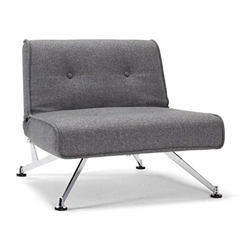 Innovation-Clubber-Sessel-dunkelgrau-Bezug-563-Twist-Charcoal-Beine-Stahl-verchromt-Liegeflche-115-x-90cm-0