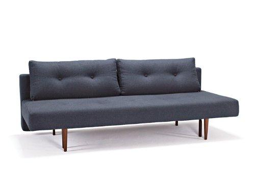 Innovation Schlafsofa Recast Textil dunkelblau