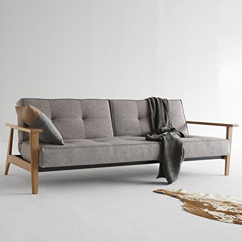 Innovation Schlafsofa Splitback Frej 521 Grey