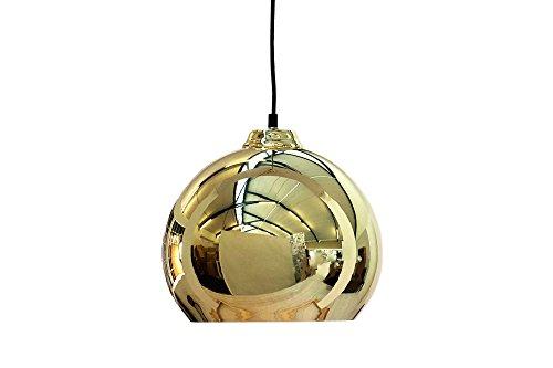 Invicta Interior Ball Hängeleuchte, 30 cm, gold optik 35797