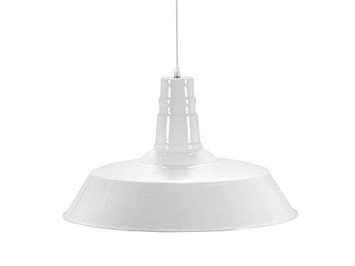 Invicta Interior Luca Industrieleuchte, 45 cm, weiß 22868