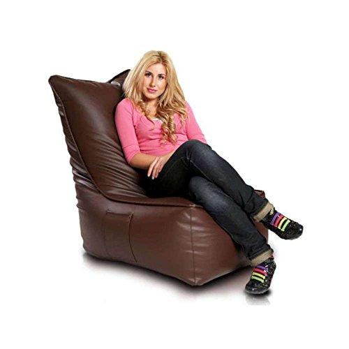 JUSThome-Elegant-Sitzsack-Sessel-Riesensitzsack-Ecoleder-Farbe-Braun-I-0