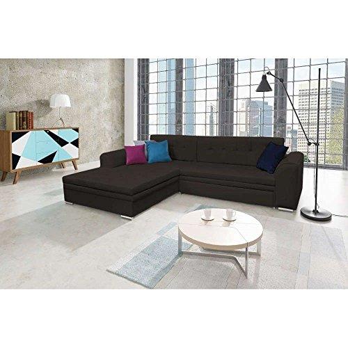 justhome sorento ecksofa polsterecke schlafsofa kunstleder. Black Bedroom Furniture Sets. Home Design Ideas