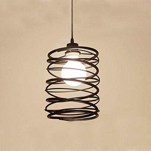 KJLARS Metall vintage Hängelampe Retro Pendelleuchte LED Leuchtmittel für Industry Style Pendellampe