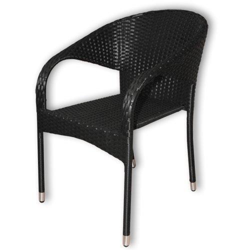KMH-Stapelbarer-Gartenstuhl-aus-Polyrattan-schwarz-106071-0