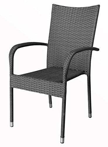 KMH-Stapelstuhl-Gartenstuhl-aus-Polyrattan-grau-106084-0