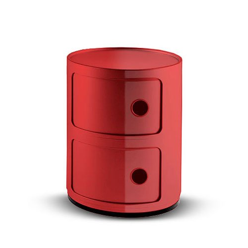 Kartell-496610-Container-Componibili-rot-0