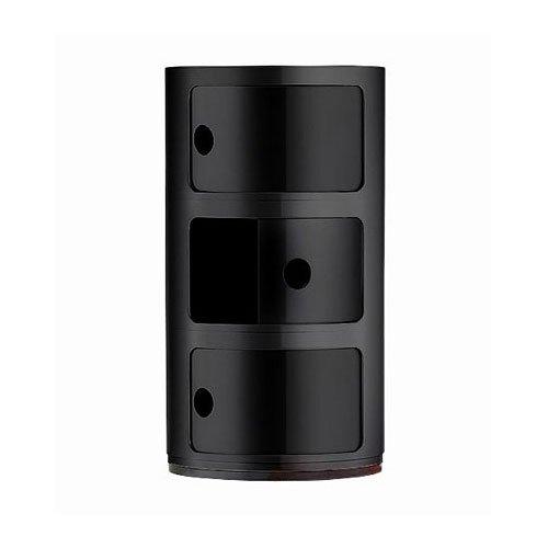 Kartell 496709 Container Componibili schwarz