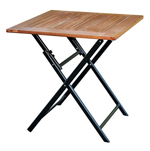 Klapptisch-Holz-70x70-Terrassentisch-Eukalyptus-Balkontisch-Gartentisch-Tisch-0