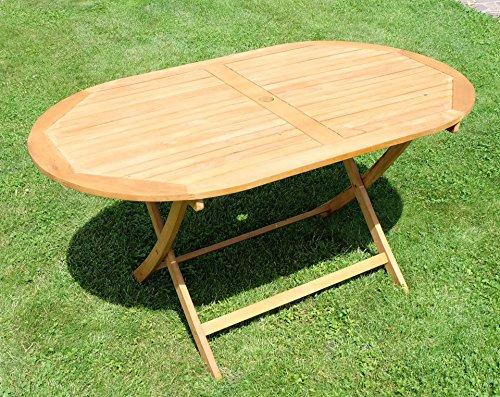 Klapptisch-Holztisch-Gartentisch-Garten-Tisch-oval-150x90cm-gelt-Holz-Eukalyptus-wie-Teak-von-AS-S-0